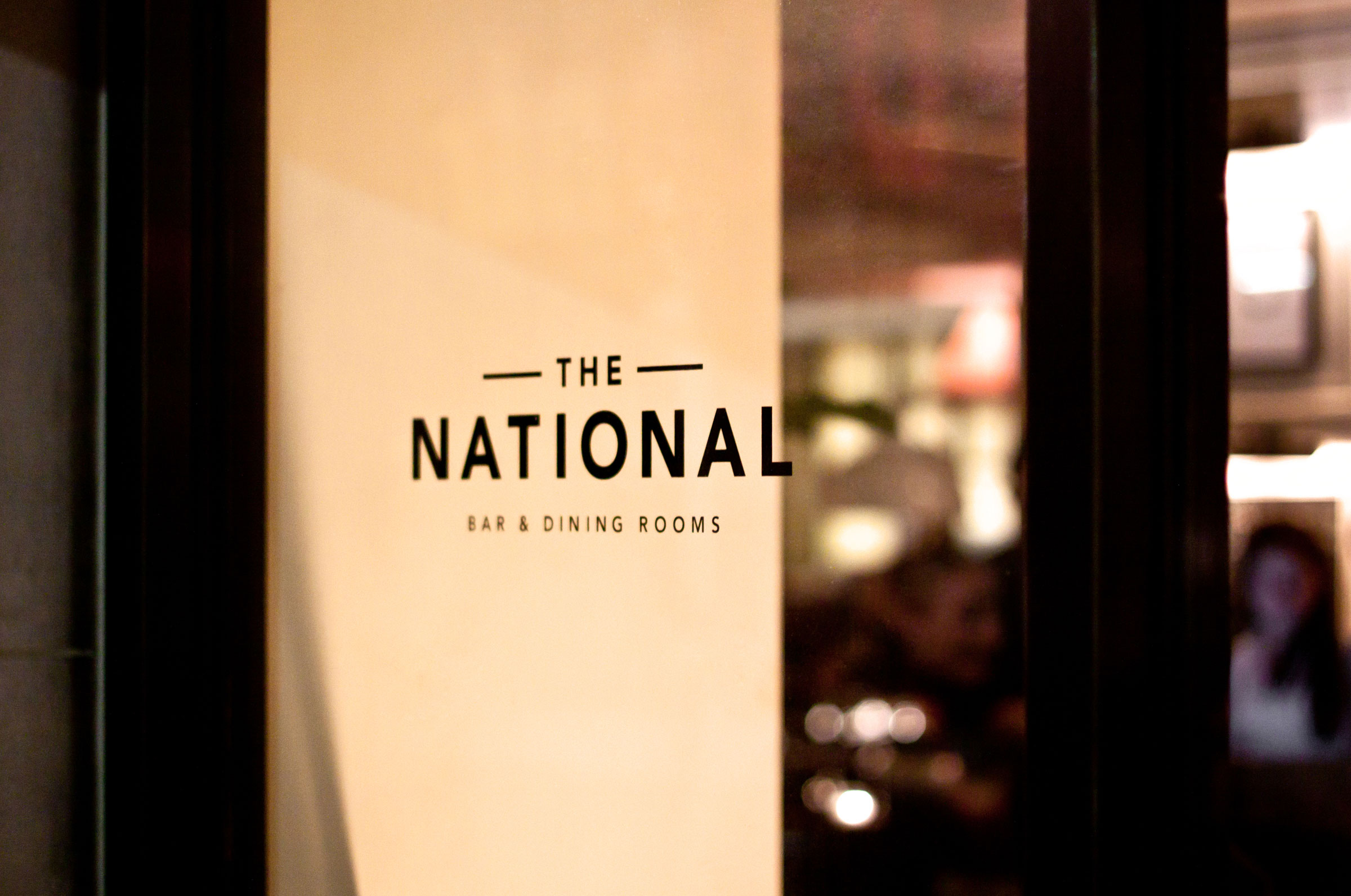 Title The National Bar Dining Rooms