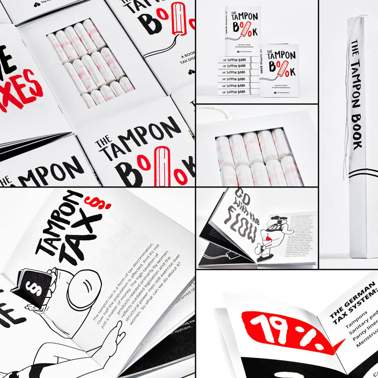 The Female Company-The Tampon Book: a book against tax discrimination