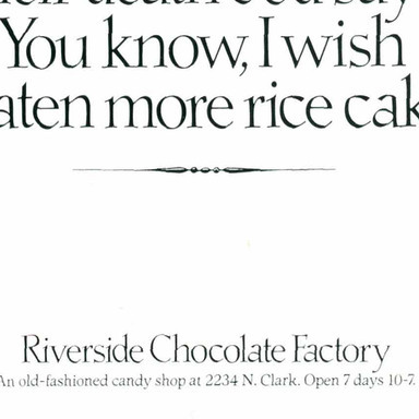 Riverside Chocolate Factory