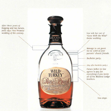 Austin Nichols & Company - Wild Turkey, Rare Breed