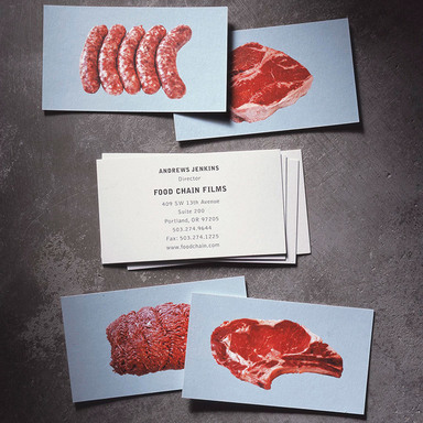 Food Chain Films Corporate Identity