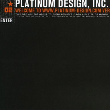 Platinum Design Website
