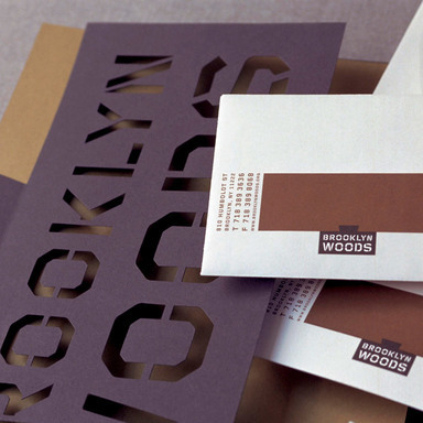 brooklyn woods corporate identity system