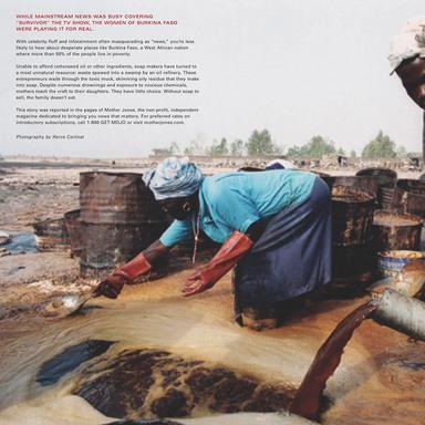 Burkina Faso/Slaughterhouse/Caribou