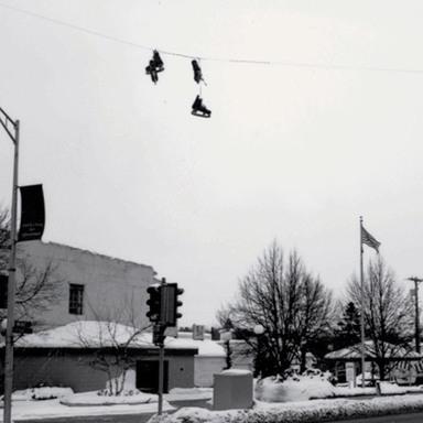 Hanging Skates