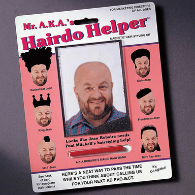 Mr. AKA's Hairdo Helper