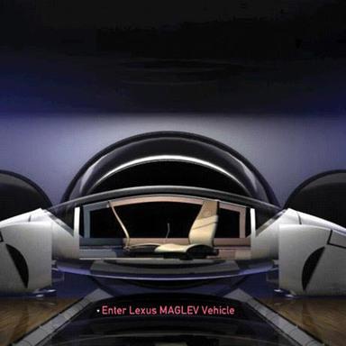 Lexus Minority Report Site