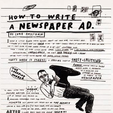 How to Create a Newspaper Ad by Luke Sullivan