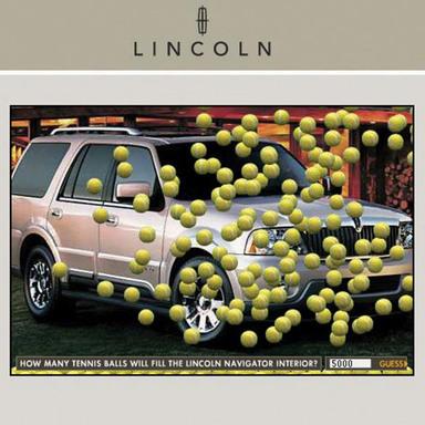 Lincoln Navigator-US Open Tennis Ball Game