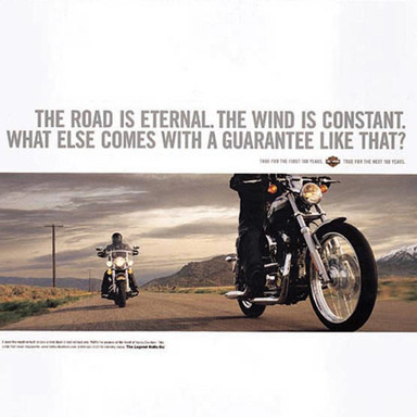 The Road is Eternal