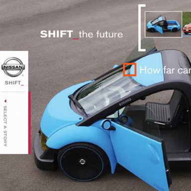 Nissan Shift_ campaign