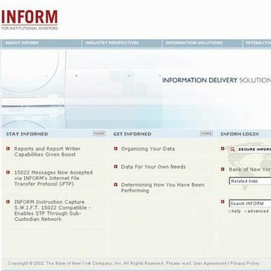 INFORM Web Site