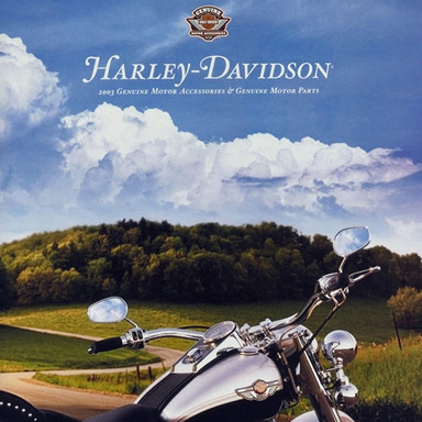 Harley-Davidson 2003 Genuine Motor Accessories and Genuine Motor Parts Catalog
