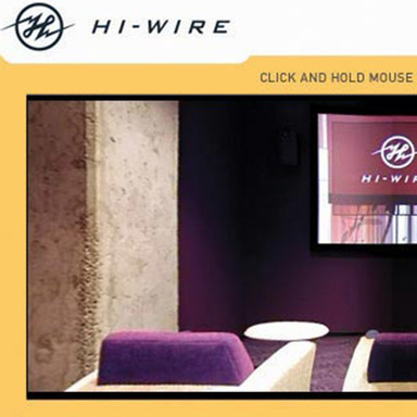 Hi-Wire Web Site