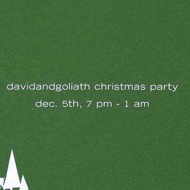 Xmas Party Invite/Stickers