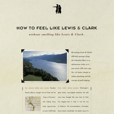 Lewis Camp; Clark, Float Plane, Wine Country