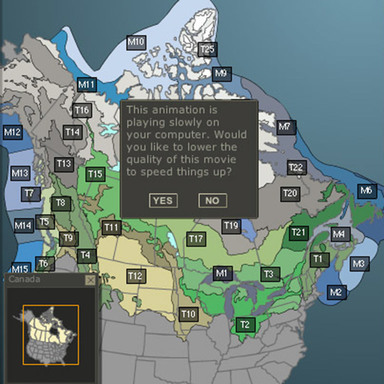 The Nature Audit - Interactive Mapping Application