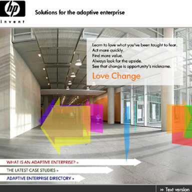 HP Adaptive Enterprise Site