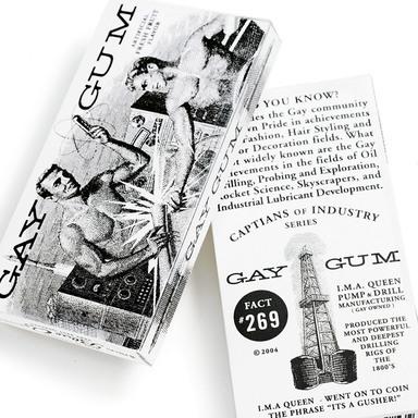 Blue Q Gum Packages
