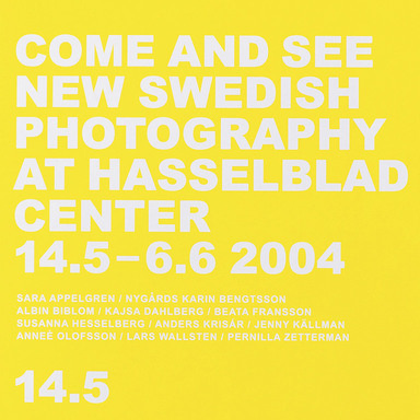 Come and see Swedish photography