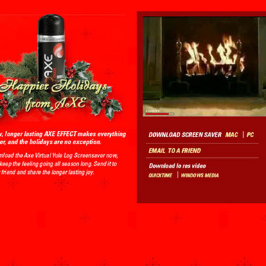 Yule Log Screensaver Download