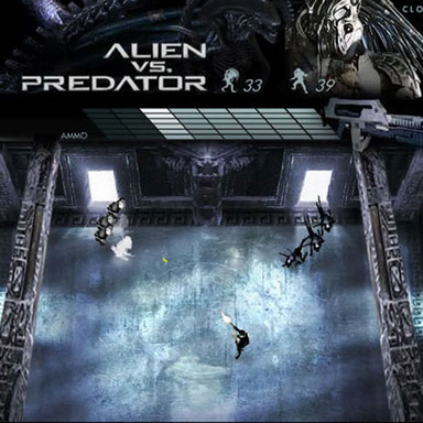 Alien vs. Predator - Game Eyeblaster
