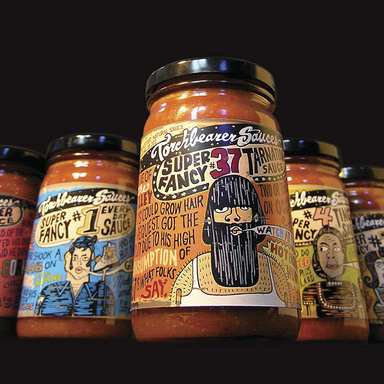 Hot Sauce Packaging