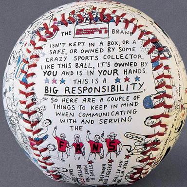 ESPN Brand Baseball
