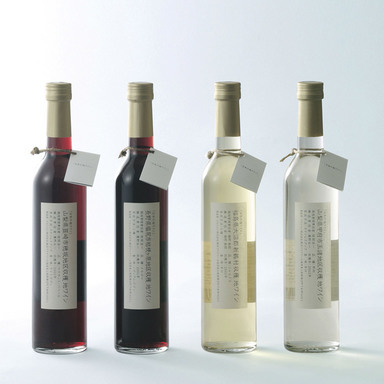 Japanese locally produced wine