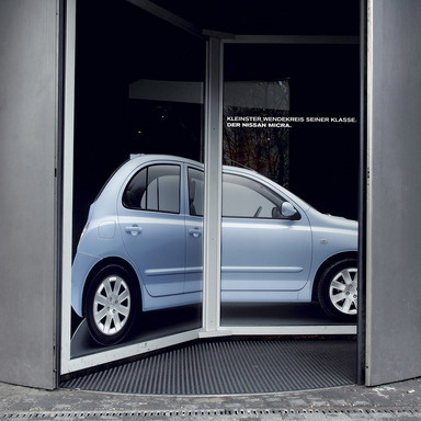 Micra - Smallest turning circle in its class