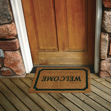 Welcome Mat Poster