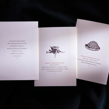 Sandstrom Holiday Cards