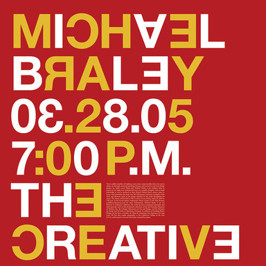 Creative Circus Lecture Poster