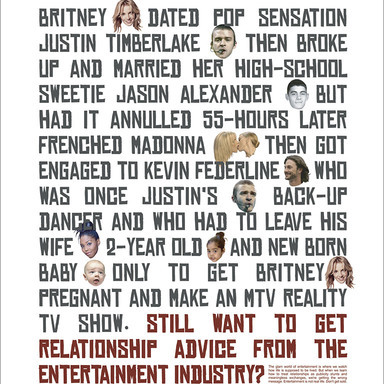 Step Up Speak Out Relationship Advice Poster Campaign
