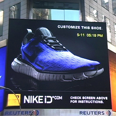Nike iD Reuters Sign