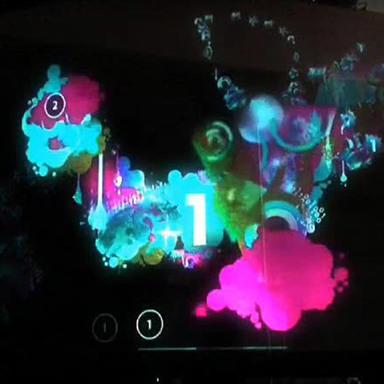 Adobe Creativity Conducted Flash Interactive Wall