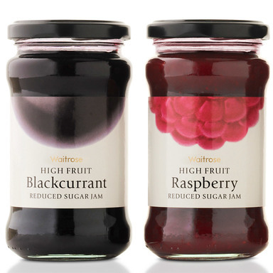 Waitrose High Fruit Jams
