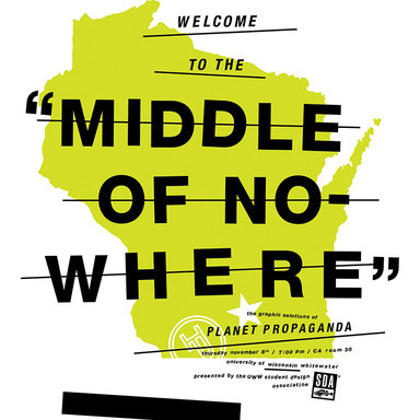 Middle of Nowhere poster