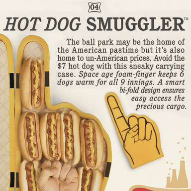 Hot Dog Smuggler