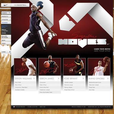 Nike Basketball Signature Moves