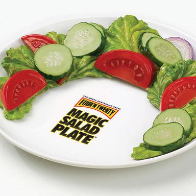 The Four'N Twenty Magic Salad Plate