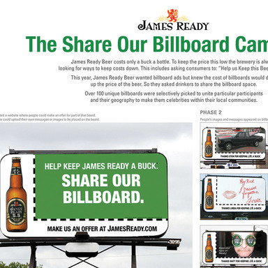 Share Our Billboard Campaign