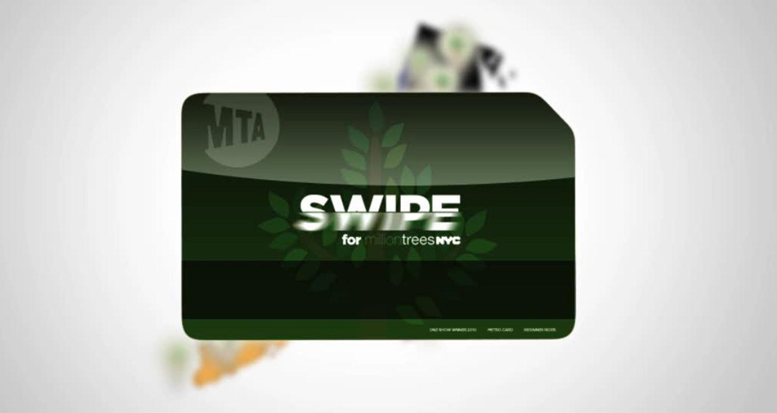 SWIPE for a Million Trees