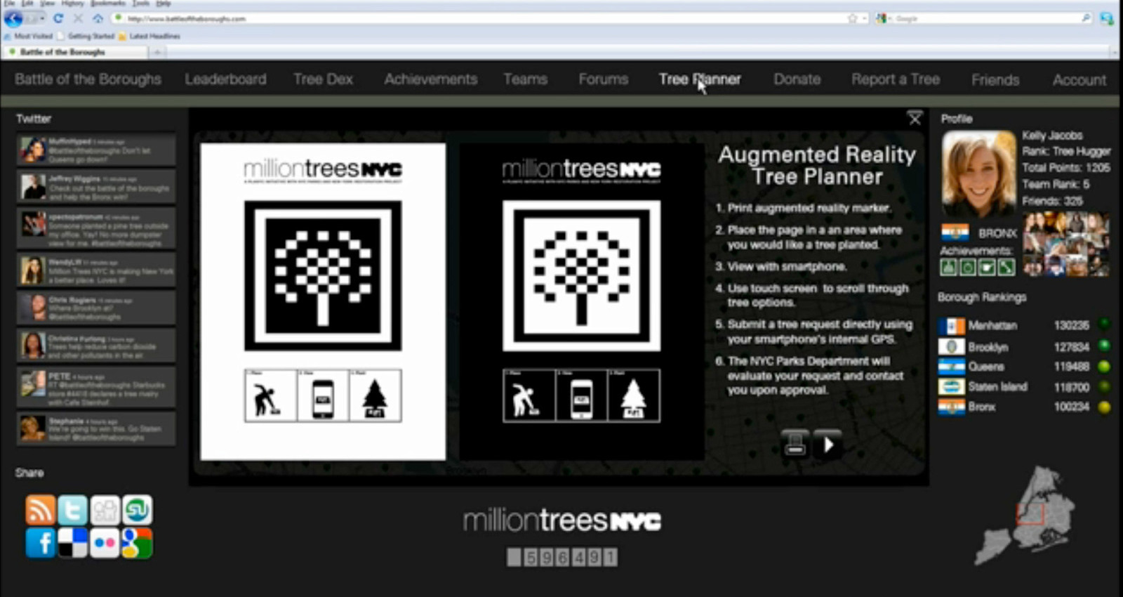 Tree Tracker
