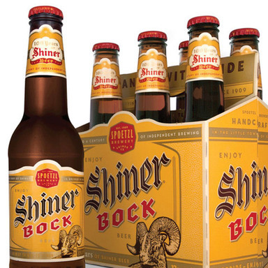 Shiner Bock Packaging
