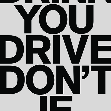 Drink you drive don´t if