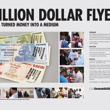 The Trillion Dollar Flyer