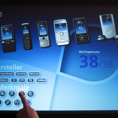 o2 Surface: Natural User Interface goes Business