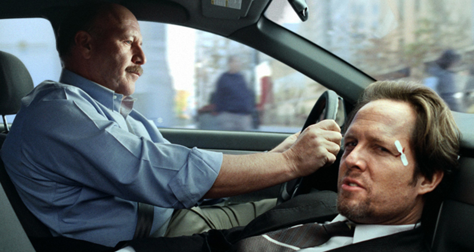 Accidents can be overwhelming - Sideswiped