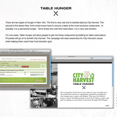Table Hunger